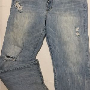 American Eagle Outfitters Jeans - American Eagle 18 Favorite Boyfriend Light Wash